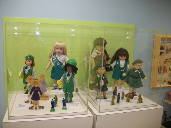 Girl Scout Exhibit