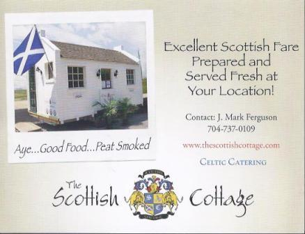 Scottish Cottage business card