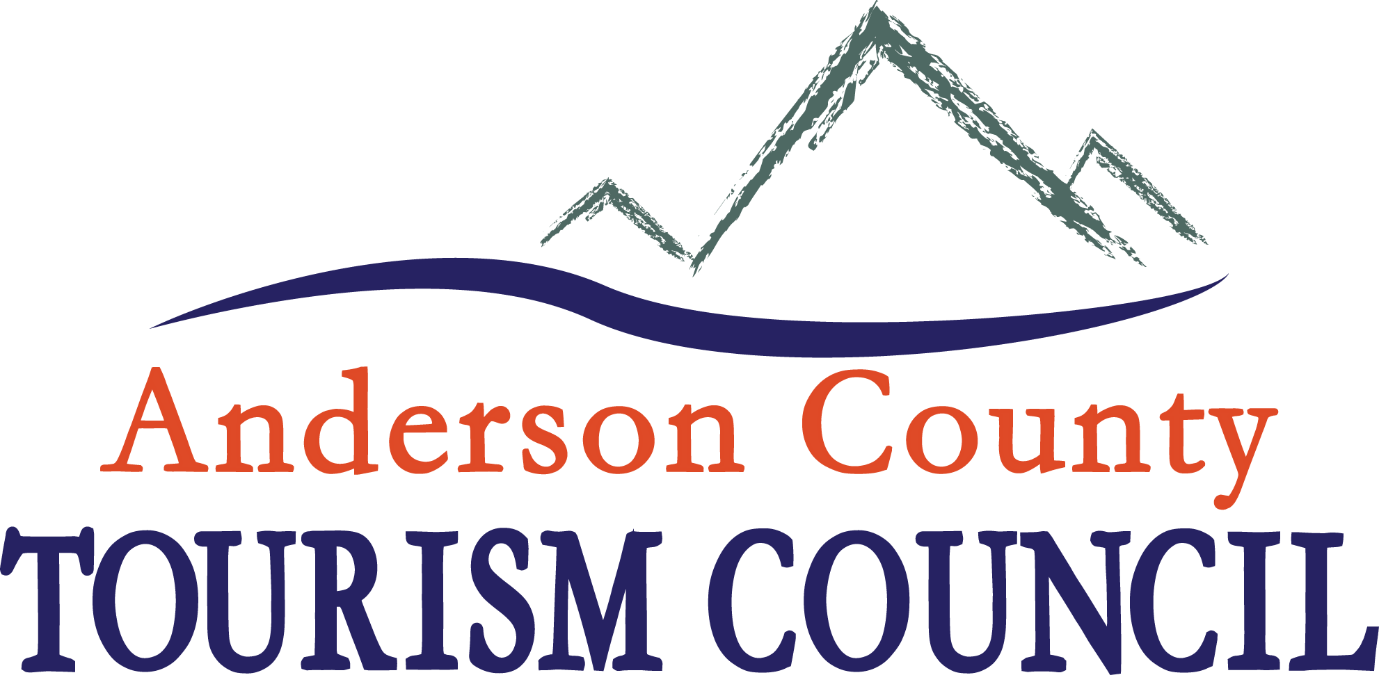 Anderson County Tourism Council Logo-2014-with color less cities